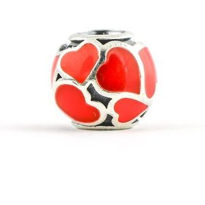 Red hot love charm